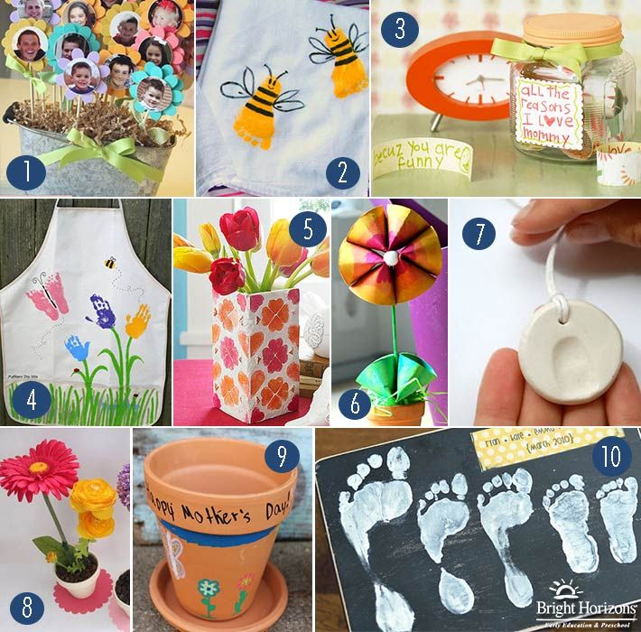#SocialParenting: 10 Homemade Mother's Day Gifts for Kids to Make