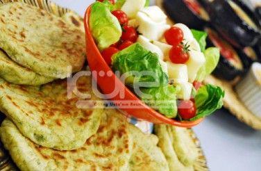 Patatesli Dereotlu Bazlama