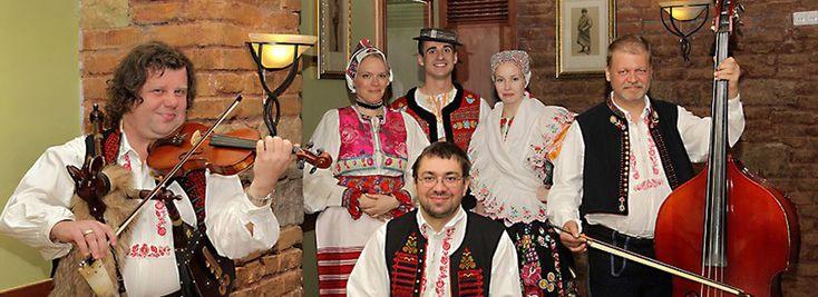 Фольклорный вечер в Праге