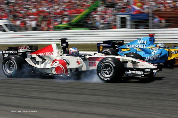 Jenson Button, Honda, Hockenheimring, 2006