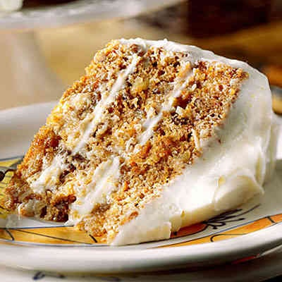 Carrot cake recipe just like the old TGIF's carrot cake recipe. Yum: Desserts, Carrot Cakes, Carrots Cake Recipe, Cream Cheese Frostings, Southern Living, Food, Easter Cake, Best Carrots Cake, Cake Recipes