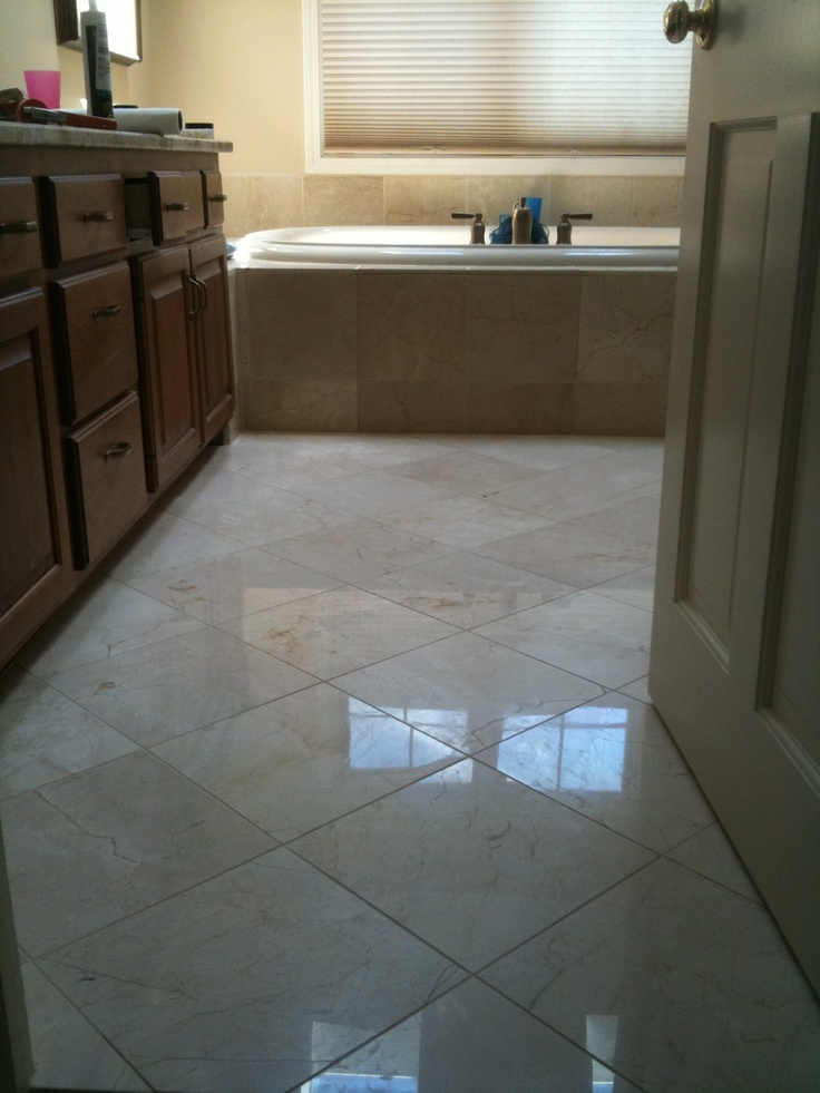 38 best images about crema marfil polished marble mosaic tiles on pinterest for Best paint color for crema marfil bathroom