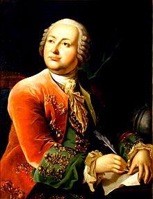 Mikhaïl Vassilievitch Lomonossov (1711-1765) - Ecrivain, chimiste et astronome russe  Souvent appelé le fondateur de la science  russe, Il devança la théorie cinétique des gaz. Il considéra la chaleur comme une forme de mouvement, suggéra la théorie ondulatoire de la lumière, et énonça l'idée de la conservation de la matière. Lomonossov fut le premier à relater le gel du mercure et à observer l'atmosphère de Vénus pendant son passage près du Soleil