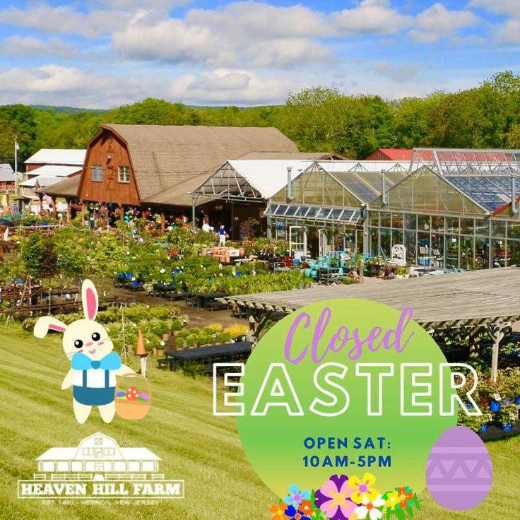 Heaven Hill Farm Will Be Open Saturday, Closed Easter