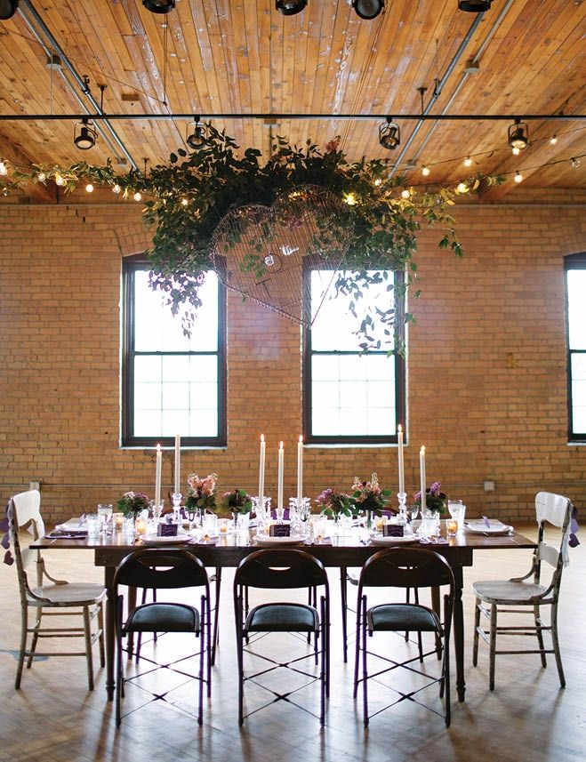 Urban Forest Chic Wedding At The Solar Arts Building