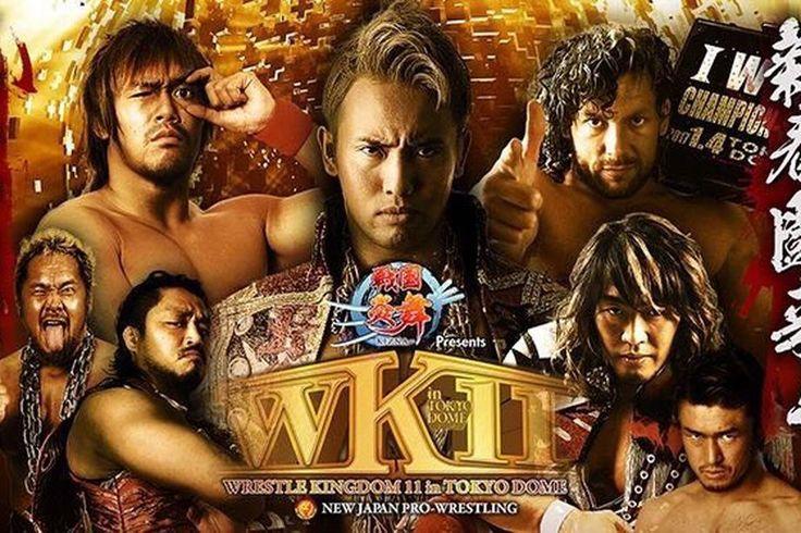 New Japan Wrestle Kingdom 11