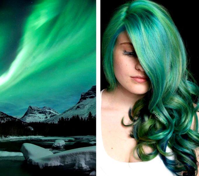 Cabelo verde http://makemebetter.com.br/tendencia-space-hair-o-cabelo-que-te-leva-para-o-espaco/