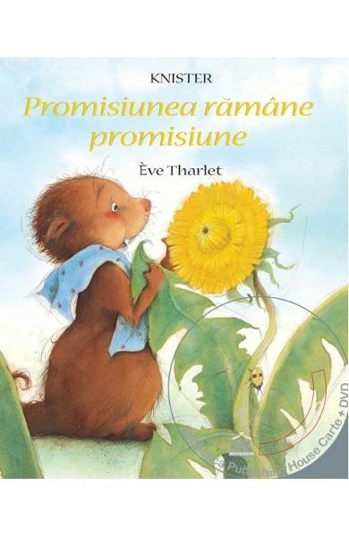Promisiunea ramane promisiune - Eve Tharlet. Varsta; 3+. Ca toate marmotele, Camil isi petrece iarna la caldura, in culcusul sau confortabil de sub pamant. Indata ce se trezeste din somn , pleaca sa descopere lumea si intalneste o floare de papadie extraordinar de frumoasa. Ramane alaturi de ea si petrec amandoi o primavara minunata.  Cand intr-o zi prietena il roaga sa sufle peste capsorul ei..alb...