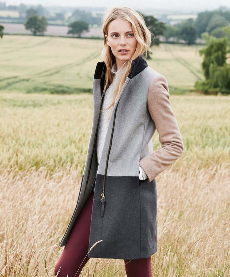 November Style Guide sneak peek. Our Very Personal Stylist team can help you pre-order the colorblock funnelneck coat before it becomes available on Wednesday 23 October. Call 800 261 7422 or email erica@jcrew.com.