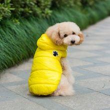 Envío gratis caliente del invierno ropa para perros Fleece mono de invierno capa del equipo para perros pequeños niñas y los niños y gatos para el invierno(China (Mainland))