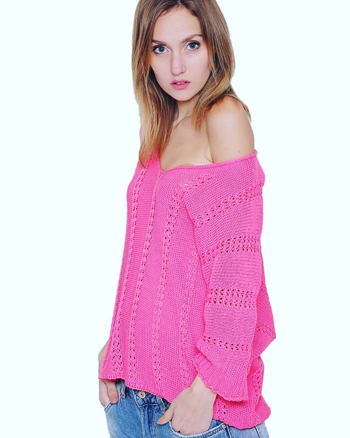Add Color to Your Life Get Inspired by Spring Collection at www.capriccioshop.gr  #pink #pinkcolor #color #spring #springcollection #mood #knit #knitwear #knits #woman #girly #cute #happy #instamood #bestprice #sweater #women #aboutalook #editorial #fashionista #style #fashion #styleblogger #fashionblogger #ilovepink #mycute #knitsweater  #loveit #yours #girls