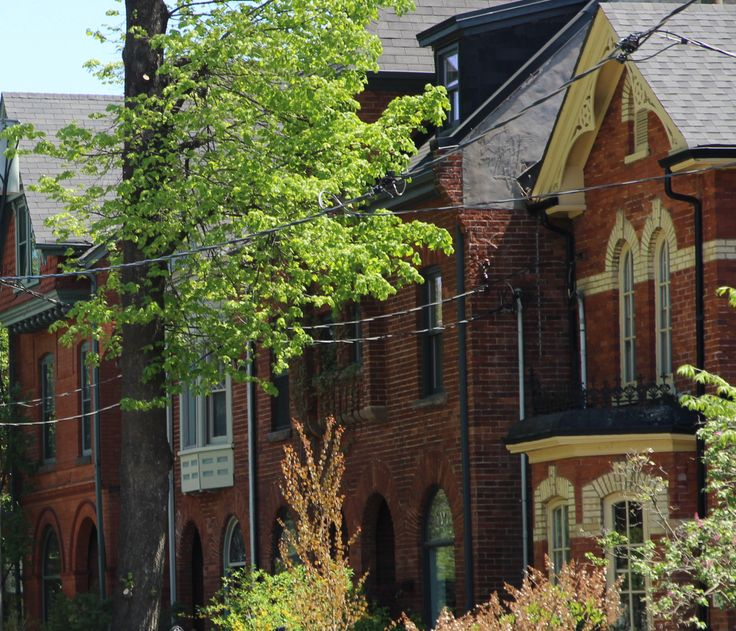Victorian homes in Cabbagetown