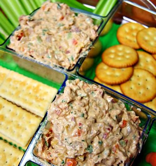 #Smoked #Tuna #Dip - A #Football party #appetizer that is bound to please!