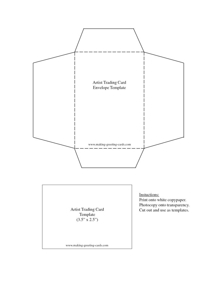 1000 images about envelope templates on pinterest minis for Mailer format template