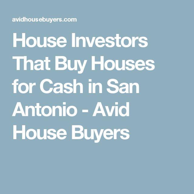 House Investors That Buy Houses for Cash in San Antonio - Avid House Buyers