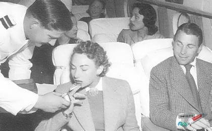 Smoking sections on Planes and Trains. 13 Travel Items that are Now Extinct --> http://www.confiscatedtoothpaste.com/travel-items-that-are-now-extinct/