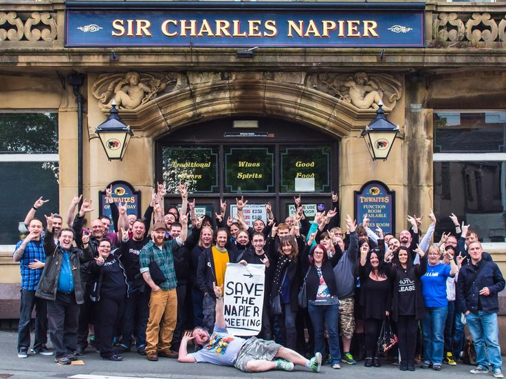 Help us to open the UK's first Community Rock Pub and Venue: The Sir Charles Napier in Blackburn, Lancashire.