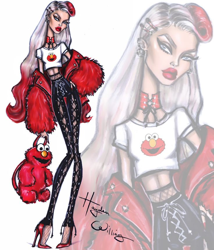 The Sesame Street collection by Hayden Williams: Elmo