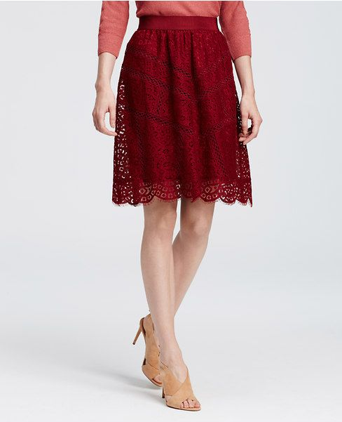 Primary Image of Lace Full Skirt