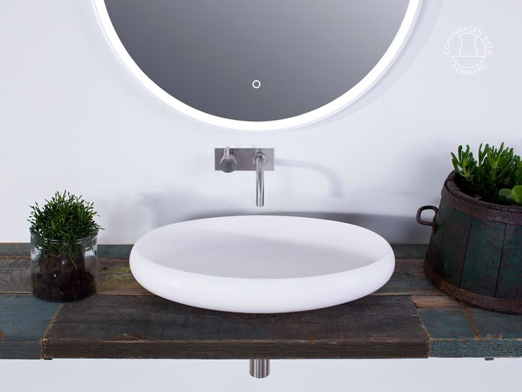 """Ardea oval"" wash basin from Copenhagen Bath."