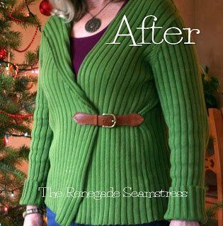 Come riciclare un vecchio maglione #recycle #fashion #DIY