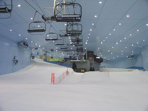 Image detail for -Ski Dubai is an exclusive mountain themed attraction that offers you ...