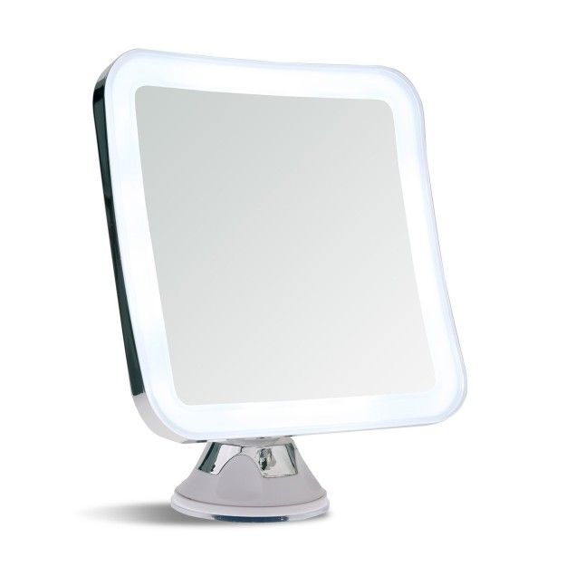 A light-up magnifying mirror that'll let you get ready in the morning without…