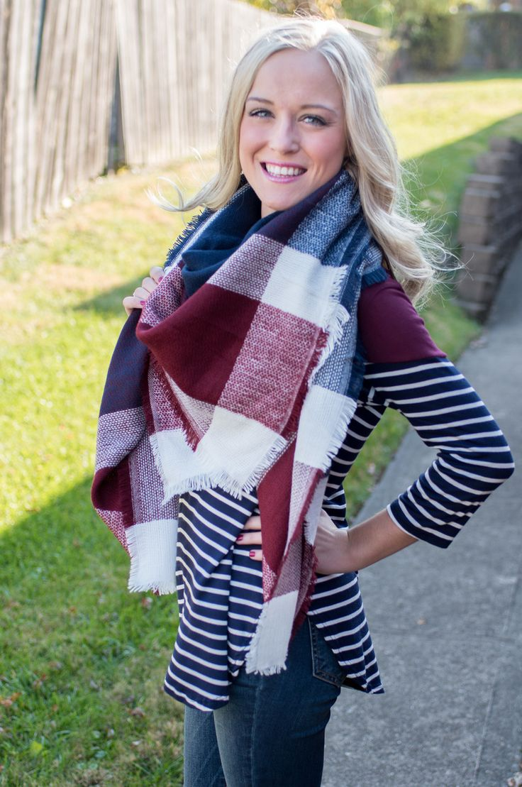 Pink Slate Boutique - Stay Warm Blanket Scarf, $24.00 (http://www.pinkslateboutique.com/stay-warm-blanket-scarf/)