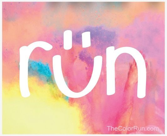 Run with a big smile!