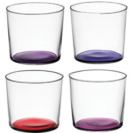 LSA Coro Set of 4 Tumblers in Berry | High Ball and Tumblers | Dining Room | Heal's