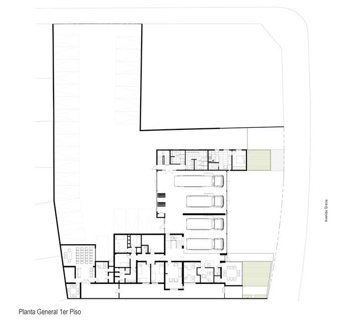 Gallery of Ñuñoa's 5th Fireman Brigade Headquarters Extension / Espiral Arquitectos - 11