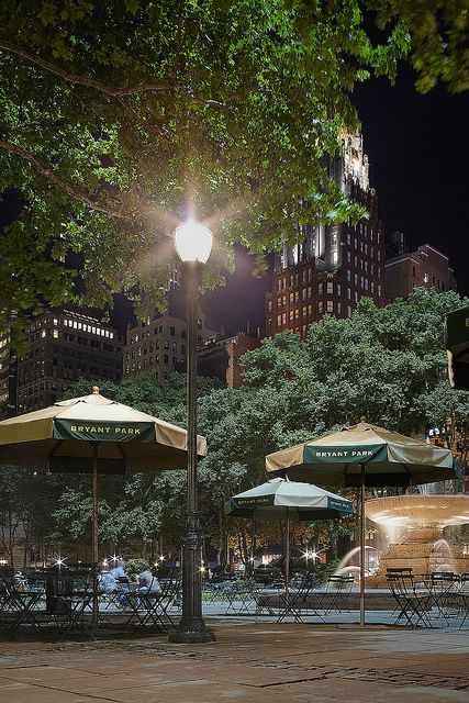 NYC. Manhattan. Bryant Park