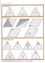 Bildergebnis für diamond log cabin quilt pattern