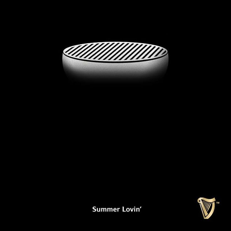 Guinness advertising. So simple. So effective.