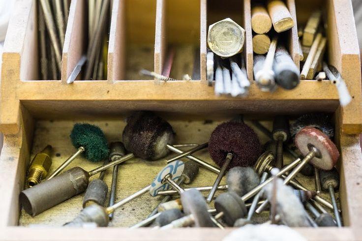 Polish and Clean up #polishing #bespokejewellery