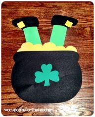kindergarten st. patricks day craftivity - Google Search