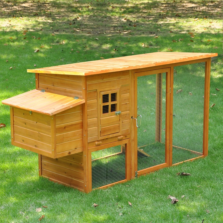 Wood farm chicken coop urban farmgirl pinterest for Cool chicken coop plans