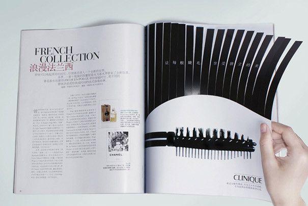 publicite double page 15 10 publicités créatives en double page de magazine ! #mascara