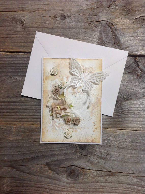 Rustic and shabby all occasion card added today, welcome to my etsy shop for details :) #shabbychic #etsyshops
