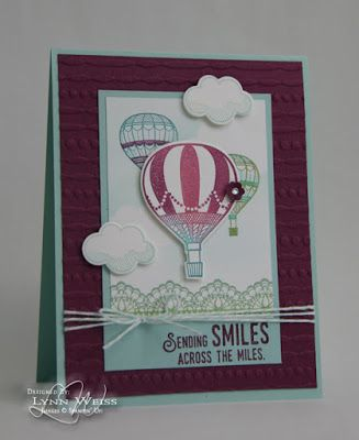 Stampin' Up! Lift Me Up handmade card - LW Designs: Stepped Up Lift Me Up