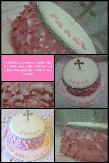 First Holy Communion mudcake