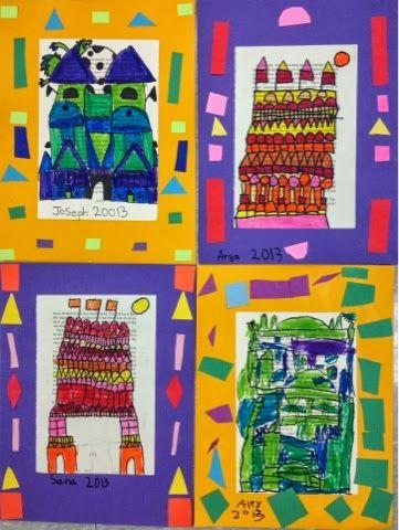 Klees Castles, 2nd grade - Mrs. Knights Smartest Artists
