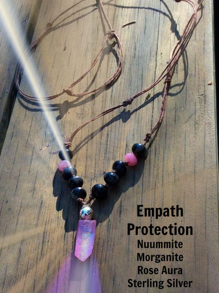 Empath Protection Crystal Healing Bracelet Nuummite
