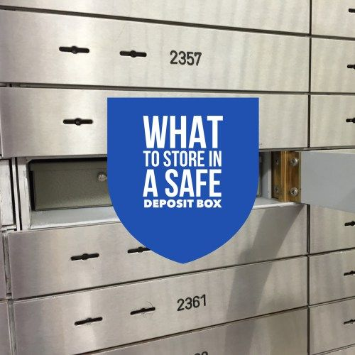 What to Store in a Safe Deposit Box. A list from Professional Organizer, Nancy Haworth of On Task Organizing in Raleigh, NC