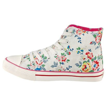 Kingswood rose hightops (Cath Kidston)