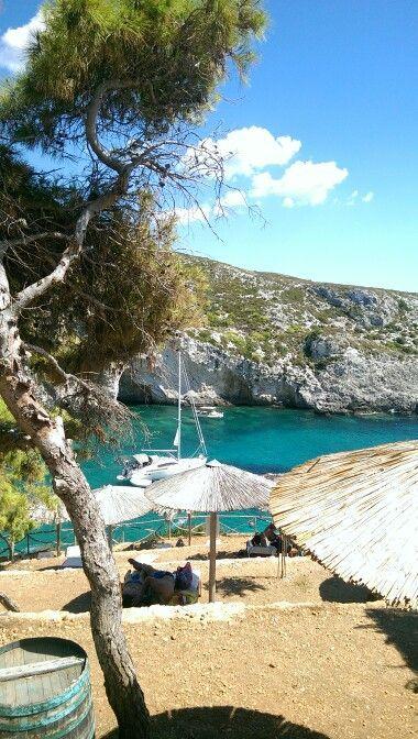Porto Limnionas, Zakynthos, Greece