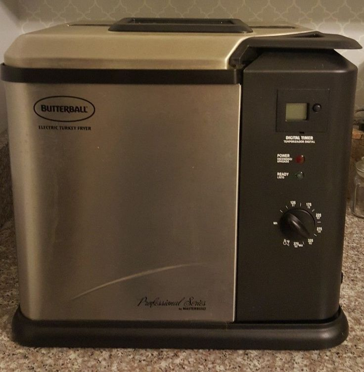 Butterball Professional Series by Masterbuilt Electric Turkey Fryer-20010109 #Butterball