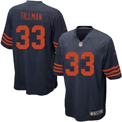 Nike Chicago Bears Charles Tillman 1940s Jersey Men Navy Blue #33 Alternate Throwback NFL Jerseys Sale