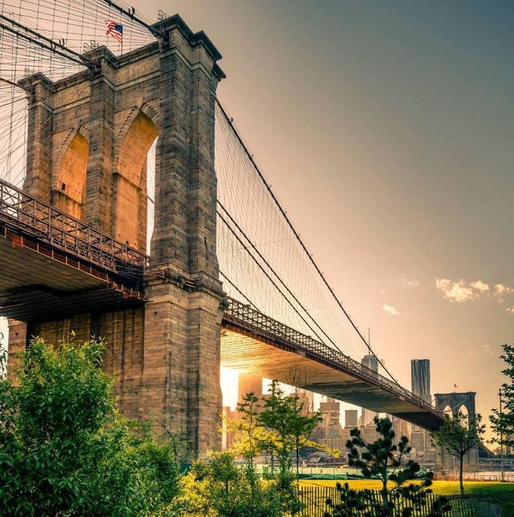 Ponte di Brooklyn, New York