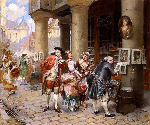 henry_victor_lesur_a3625_at_the_street_market_600.jpg (600×497)